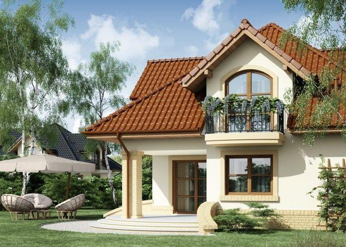 Projekat-Kuce-Sa-Potkrovljem-Garazom-Minor-4 | Home Design | Pinterest
