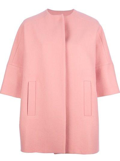 MSGM - oversized pink coat