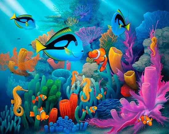 Friends Of The Sea (Miller) Mural - David Miller  Murals Your Way