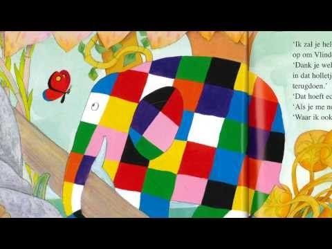 Elmer en vlinder, digitaal prentenboek voor kleuters