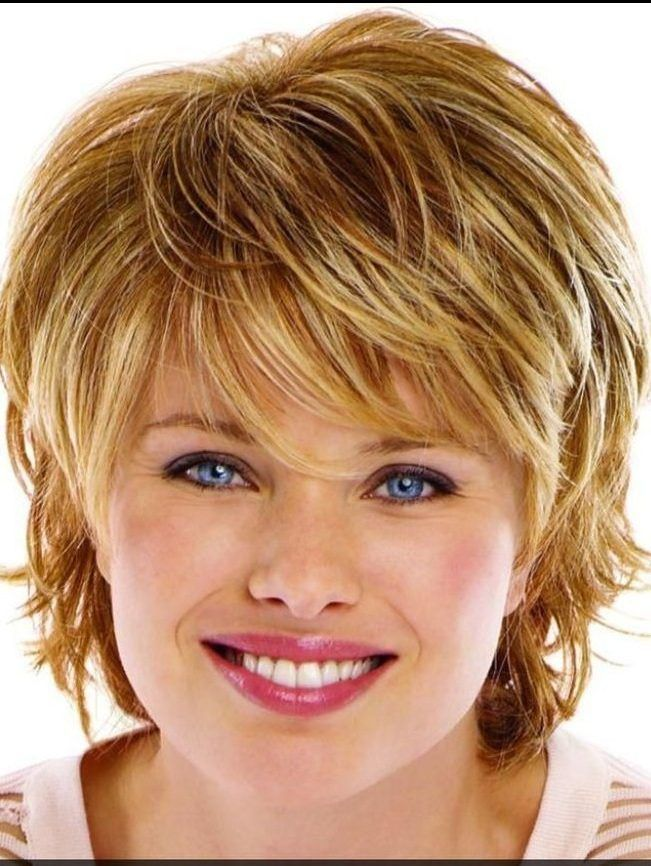 Best Short Hairstyles For Round Faces With Double Chin The Hairstyle Short Hair Styles For Round Faces Hairstyles Fine Hair Round Face Long Face Haircuts