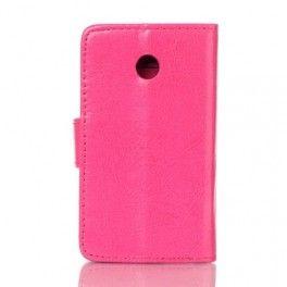 Huawei Ascend Y330 hot pink puhelinlompakko.