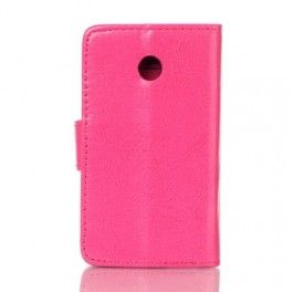 Huawei Ascend Y330 hot pink puhelinlompakko.