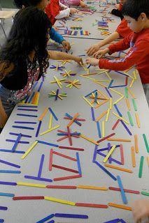 Kindergarten/First Grade: exploring line and pattern