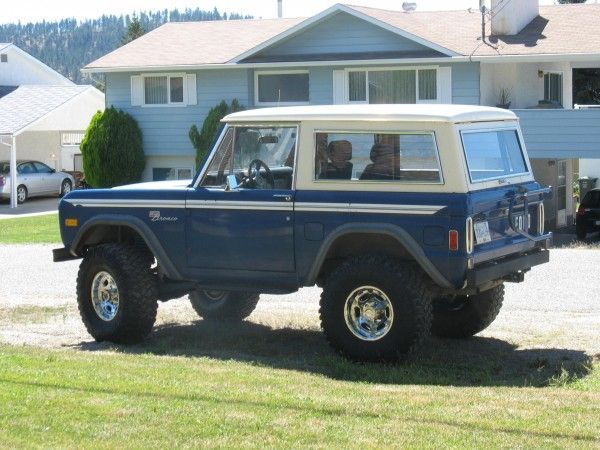 1977 Ford Bronco Sport 4wd For Sale Vehicles From Kelowna British Columbia Okanagan Valley Adpost Com Classifi Ford Bronco Ford Bronco For Sale Bronco Sports