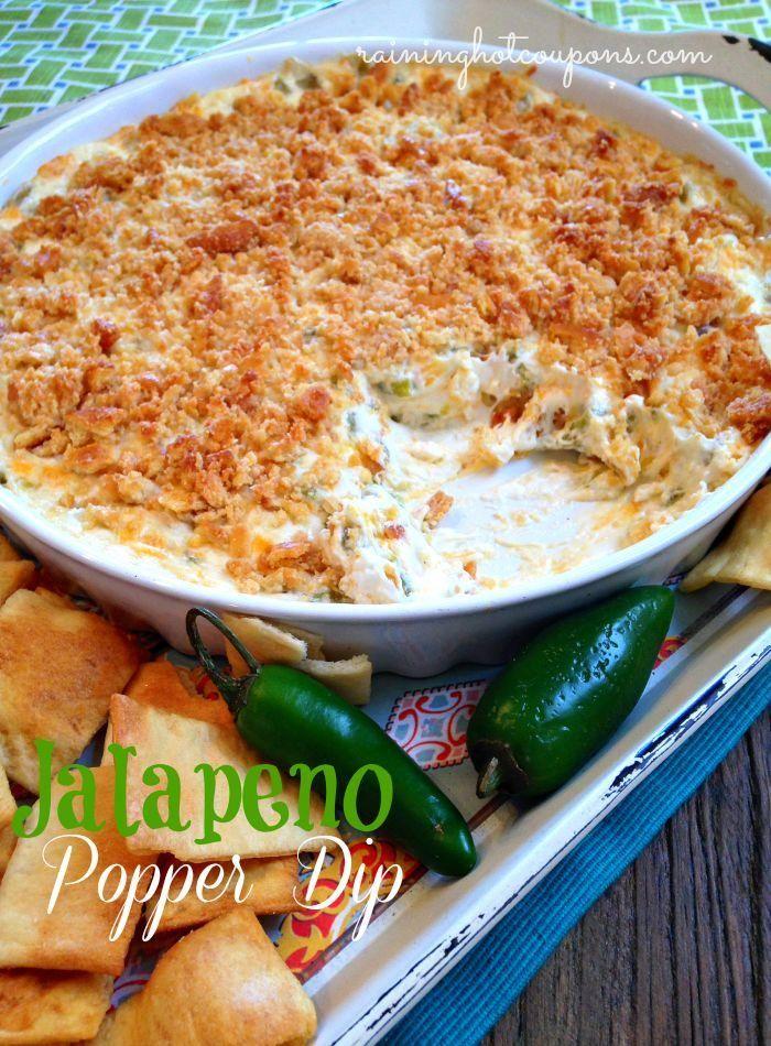 Jalapeno Popper Dip... | yummi | Pinterest