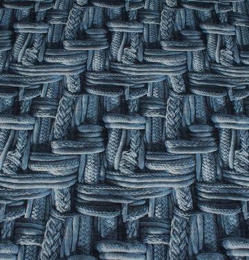 digitalprint af kabelstrik, jersey - oeko tex 100