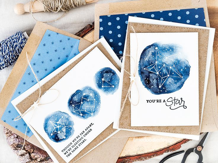 Constellations make great quick and easy guy cards. Find out more by clicking on the following link: http://limedoodledesign.com/2016/07/constellations-are-great-for-quick-and-easy-guy-cards/