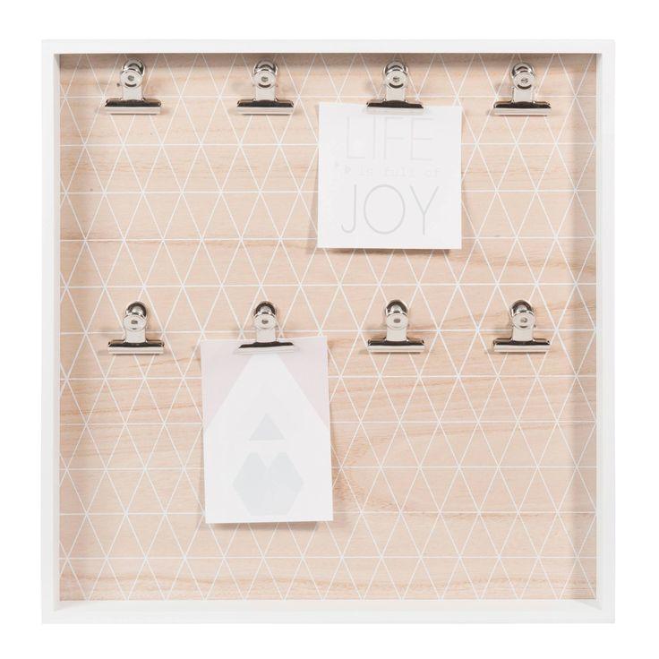 Tablero para fotos blanco 40 × 40 cm GRAPHIC PASTEL