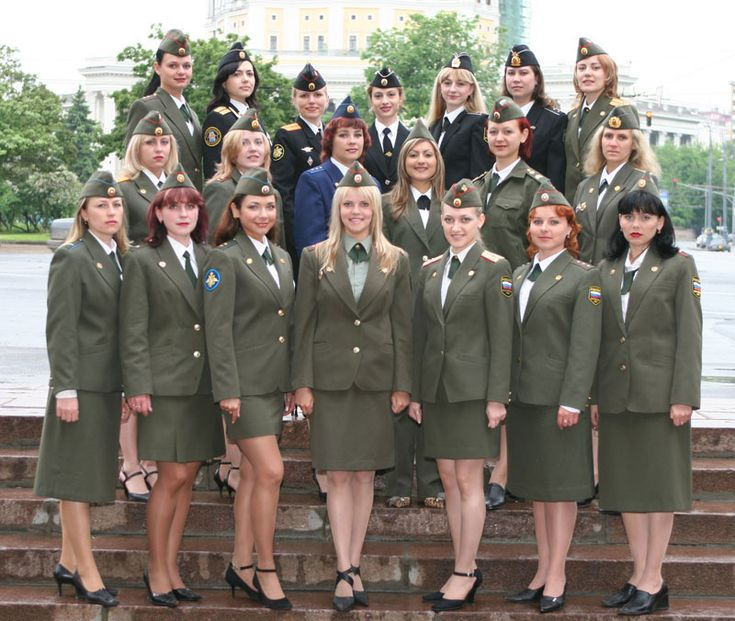 US Navy Uniforms for Females | Image Courtesy of the RussianFederation Ministry of Defence