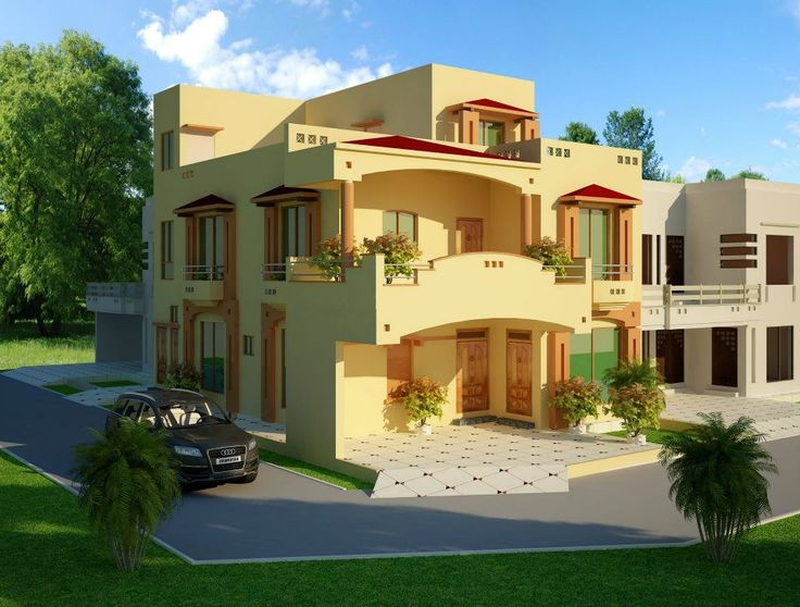 Residential House Map Design Ideas
