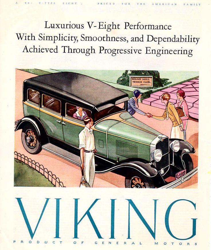 viking motors vintage