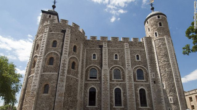 Tower of London - William the Conqueror ordered the construction of the massive White Tower in the 11th century.