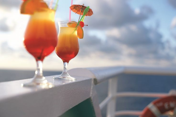 Relax on the deck of our cruise ships with a drink in your hand while enjoying the experience of an Iconic Aegean Cruise! #Celestyalcruises #Iconic #Aegean #cruise #relax #drinks