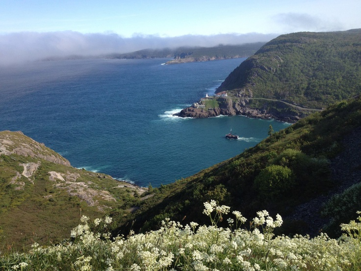 St. Johns, Newfoundland, view from Signal Hill