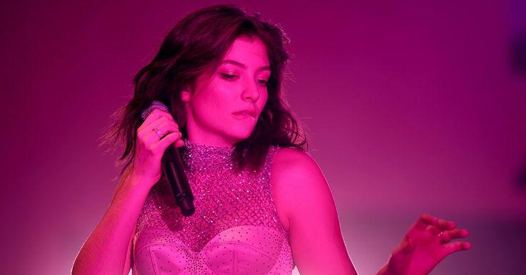 Hear Lorde Navigate Nightlife Angst on New Song 'Sober' #headphones #music #headphones