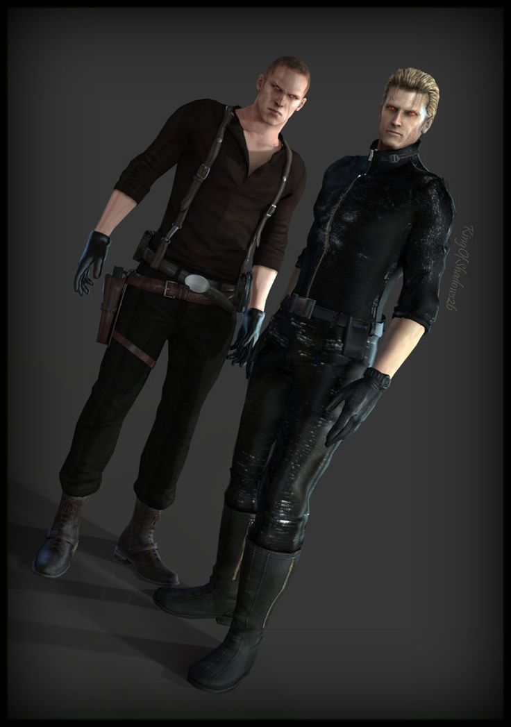 Jake and Wesker!
