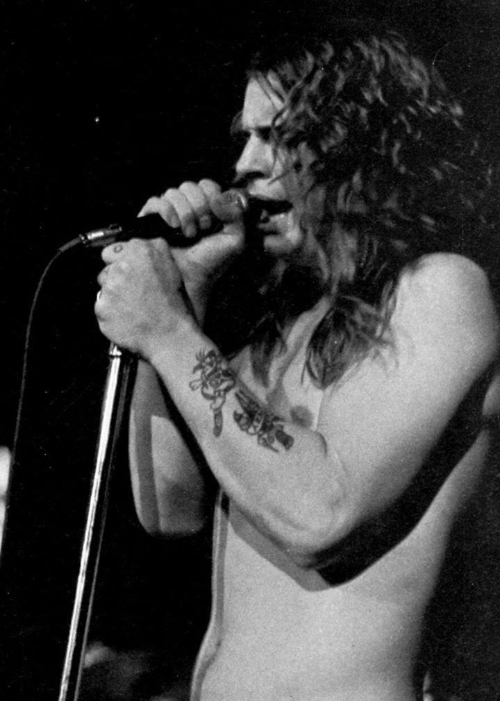Yep saw this show. Black Sabbath Ozzy Det. 1971 photo C Auringer