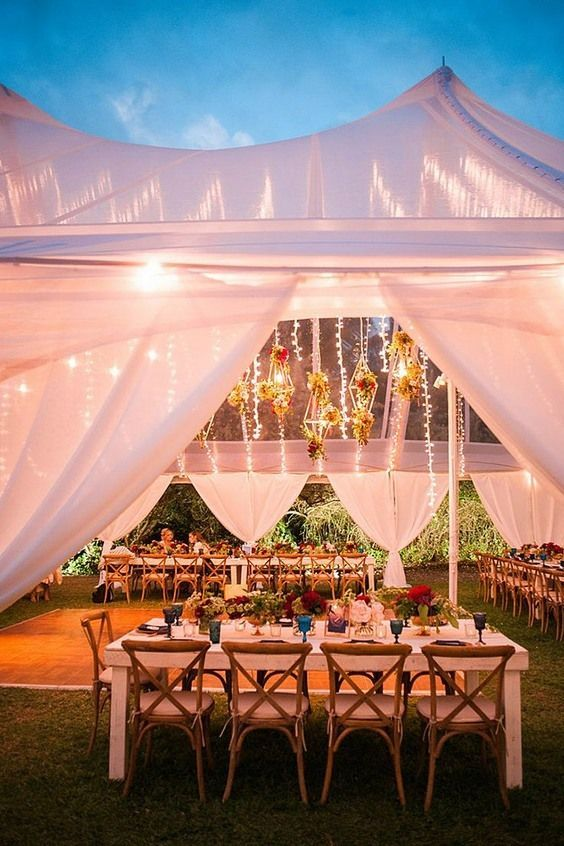 Stunning Awesome Wedding Tent Decor Ideas Weddingtent Weddingideas Weddingreception