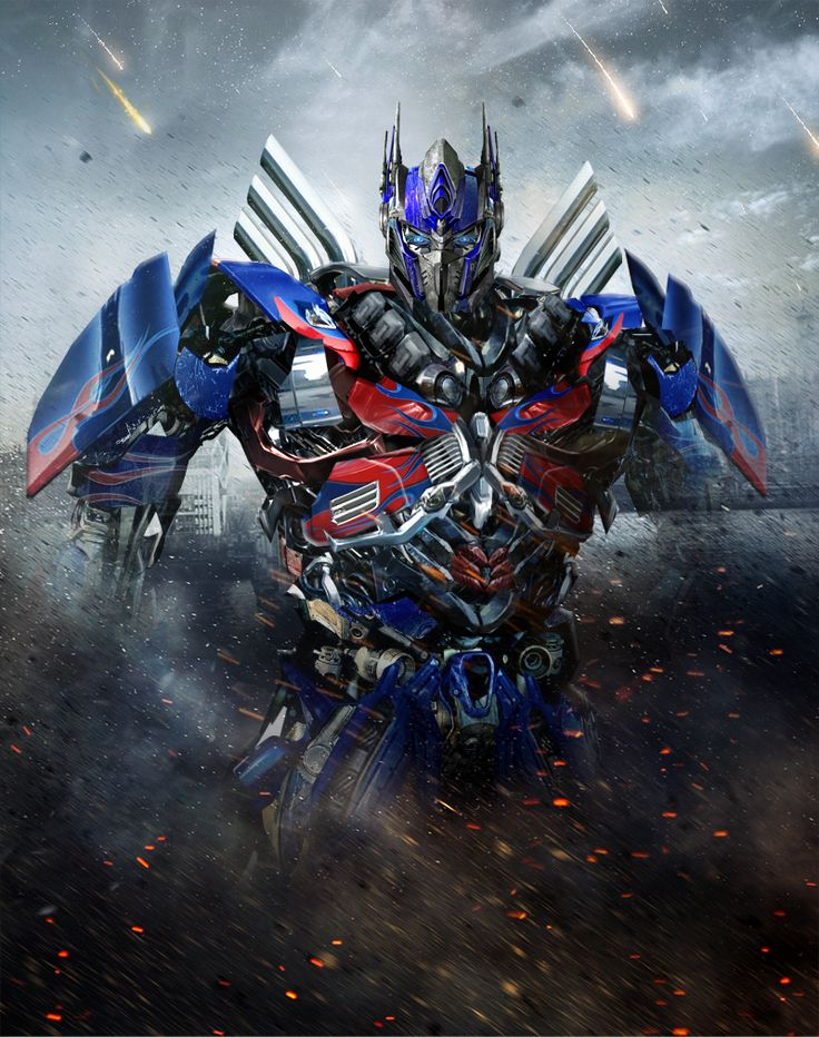 Transformers 4 Optimus Prime Fan Art With Updated Head