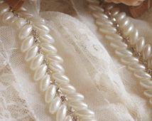 жемчужина бисером отделка, свадебный створки отделка, отделка бисером ювелирные изделия, жемчуг шарик отделкой горный хрусталь