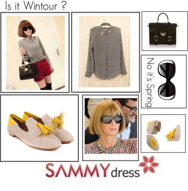"""Sammydress.com"" by theacademyofme on Polyvore"