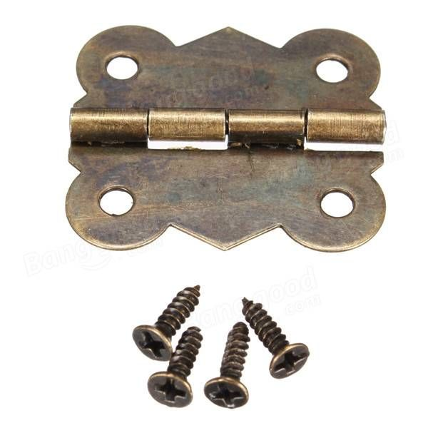 Only US$1.08, buy best Antique Cabinet Cupboard Door Hinges Butterfly Ornate Home Fitting sale online store at wholesale price.US/EU direct.