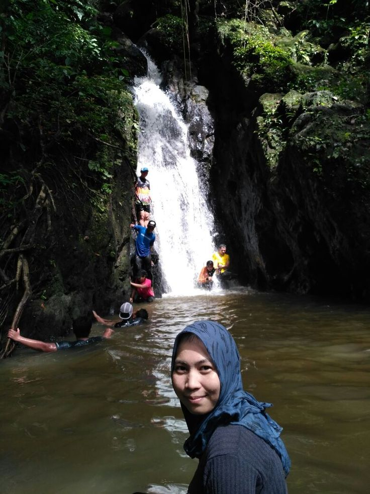 Frog waterfall in indonesia, east borneo, balikpapan #indonesia #balikpapan #waterfall #small #vacation