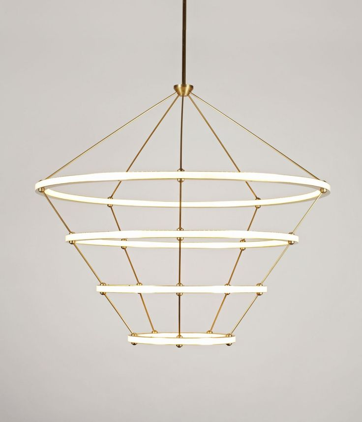 Halo Chandelier – Roll & Hill | sordoni-indoors.com