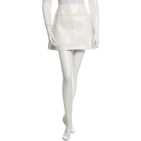 78 best ideas about white leather skirt on