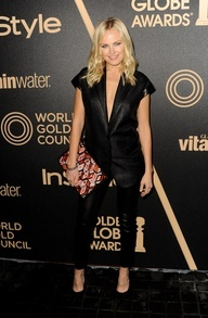 Malin Akerman at the Miss Golden Globe Party in 2012