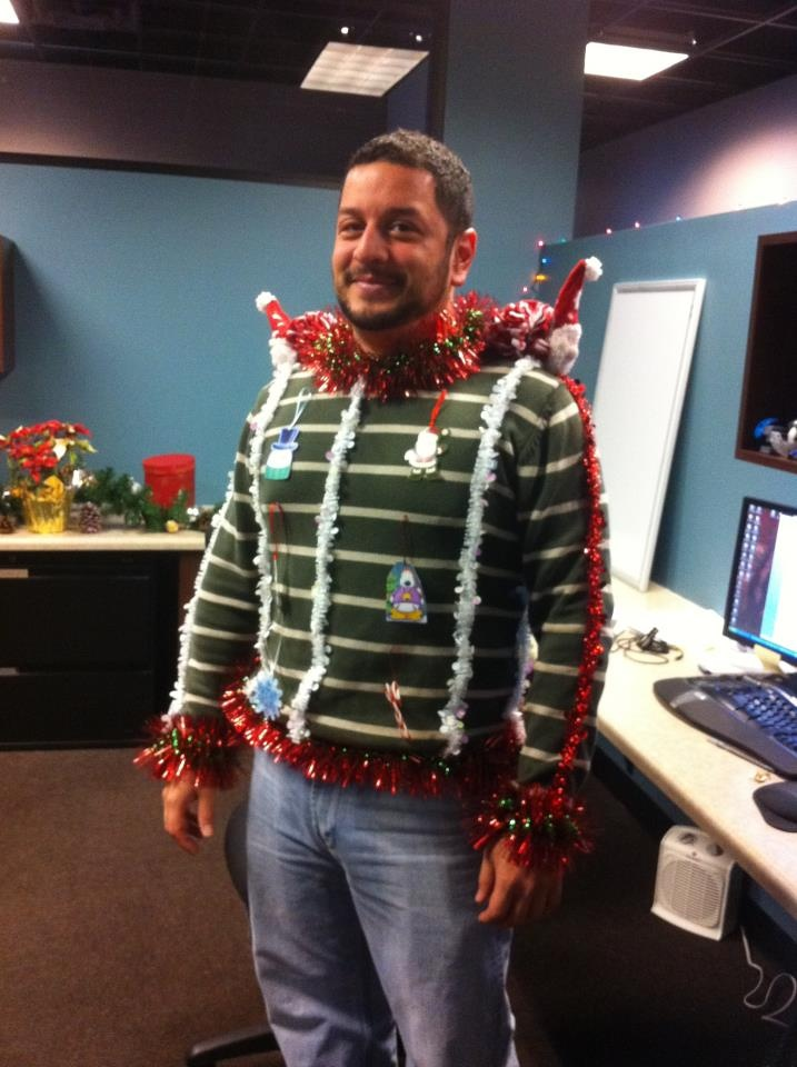 Break Out The Ugly Sweaters For Jones' Instagram Contest ... |Ugliest Sweater Contest Ideas