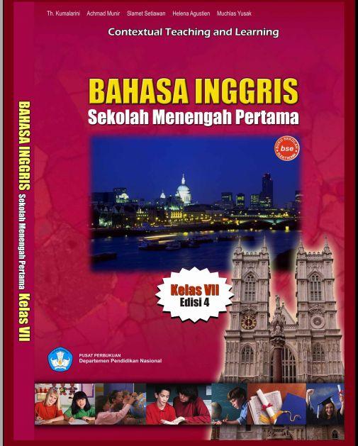 Ebook : Bahasa Inggris Untuk SMP Kelas 7 Edisi 4