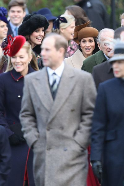 b6a511b5cd6 Kate Middleton Photos Photos  Members of the Royal Family Attend St ...