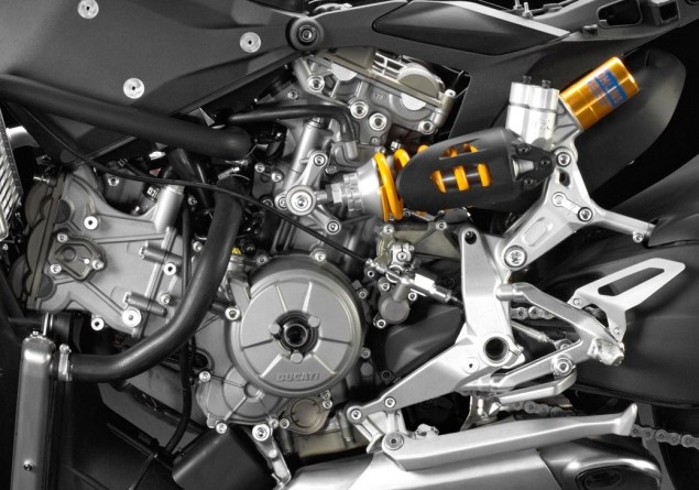 Underneath the Ducati 1199 Panigale's Fairings