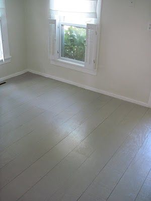 this lady has a cool tutorial on how to use plywood for flooring low cost