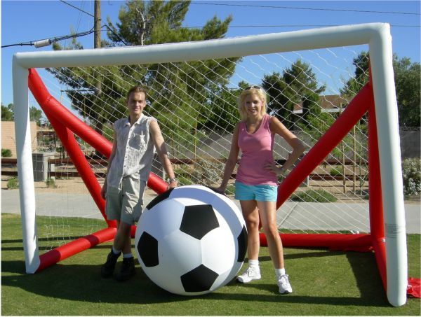 outdoor games  | Market Umbrellas > Monster Soccer Game