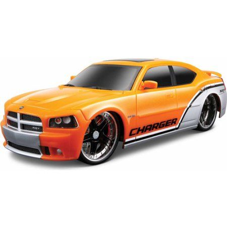 Maisto Tech RC 1:24 Scale 2006 Dodge Charger SRT8, Assorted