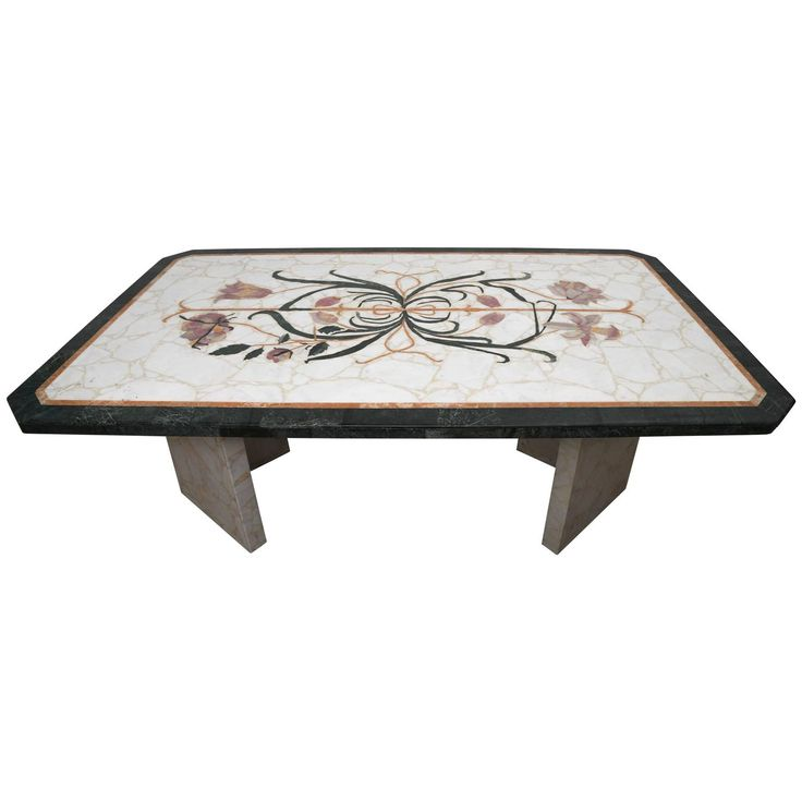 1970s Italian Marble Top Dining Table | See more antique and modern Tables at https://www.1stdibs.com/furniture/tables/tables