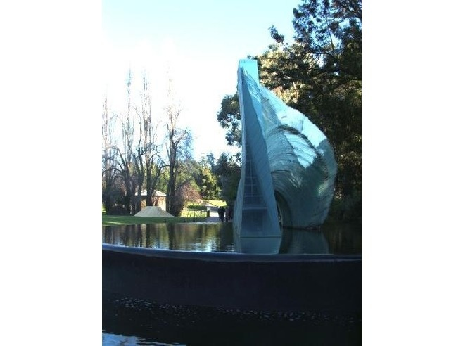 """""""The Cascade"""" by Sergio Redegalli in Adelaide Botanic Gardens"""