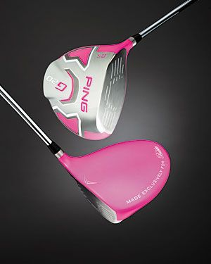 """For several years, Bubba Watson has used a driver with a pink-colored True Temper BiMatrx shaft. Now he has a clubhead to match. Bubba Watson will play the 2012 PGA Tour season using a 8.5-degree Ping G20 driver that has a bright, bubblegum pink clubhead. The rear crown of the club has wording that reads, ""Made exclusively for Bubba""."