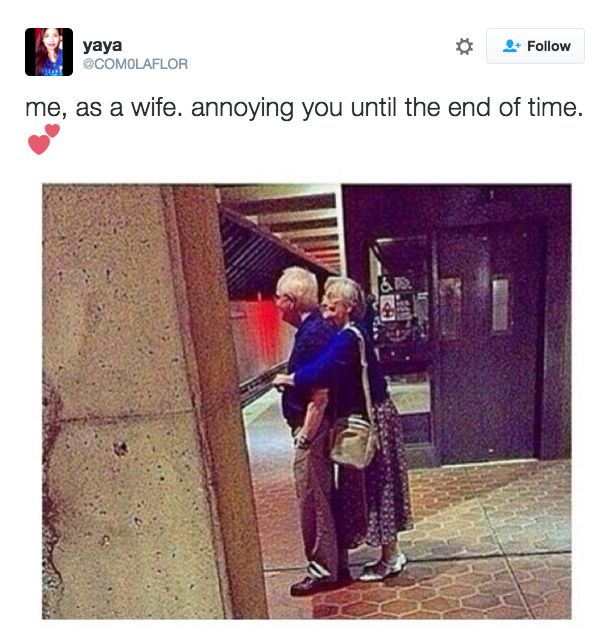 And when you think about your future together: | 18 Pictures That Are Literally You As A Wife