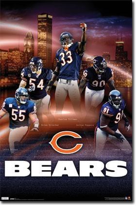 Chicago Bears Defense Poster