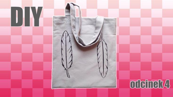 W filmie pokazuję jak uszyć i namalować niespieralny nadruk na shopperce! DIY pełną gębą. Personalizowana torba na zakupy własnego projektu - to jest to! :D
