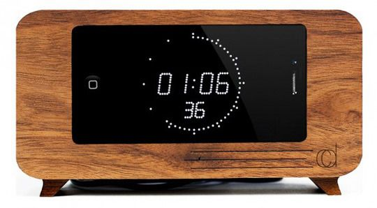 The Best of Wooden Alarm Clock iPhone Docks | Apartment Therapy