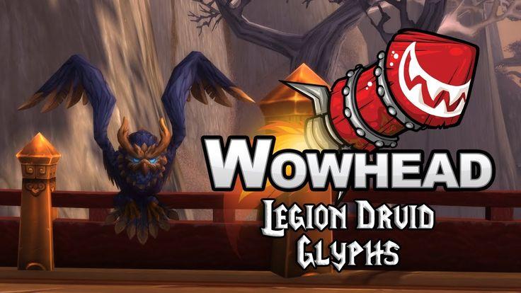 Legion Druid Glyphs - YouTube
