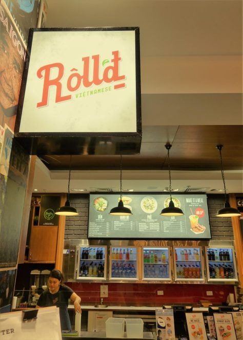 Roll'd - where you can eat for a cause.
