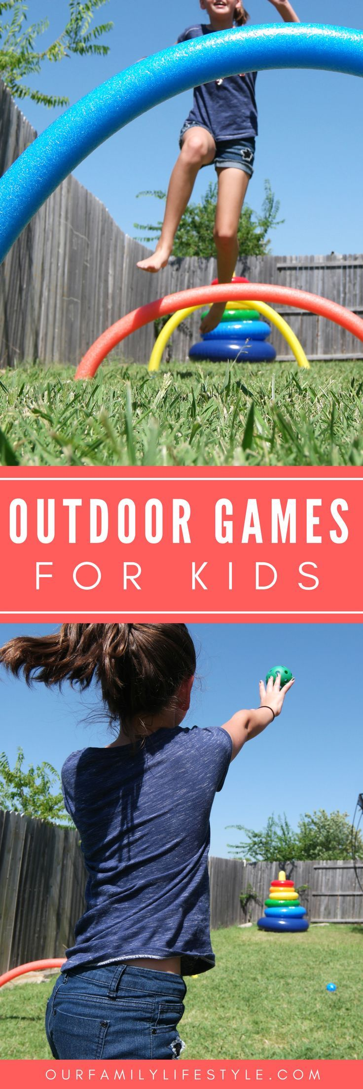 Does your family enjoy a little friendly competition? Host your own backyard children games for some fun summer activities games for kids to play outside.
