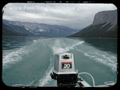 Peek thru our window....: Get Your Pass To The Wilderness- Lake Minnewanka Camping