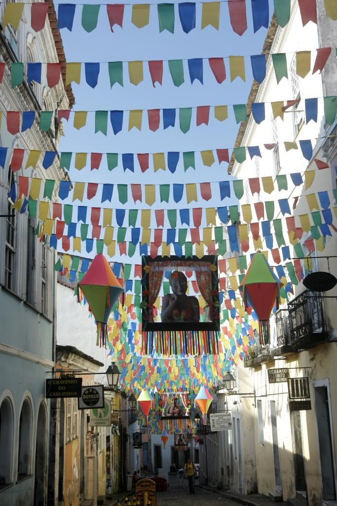 São João 2015 at Pelourinho - Salvador, Bahia